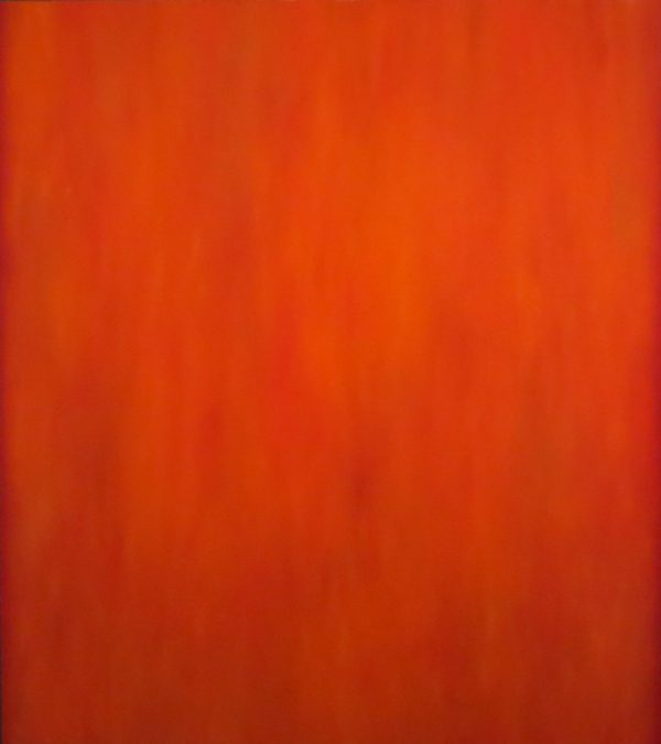 Abstraction in red & orange