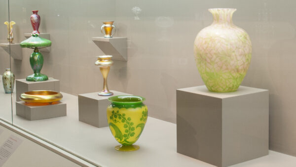 gallery image of glass works by Steuben Glass