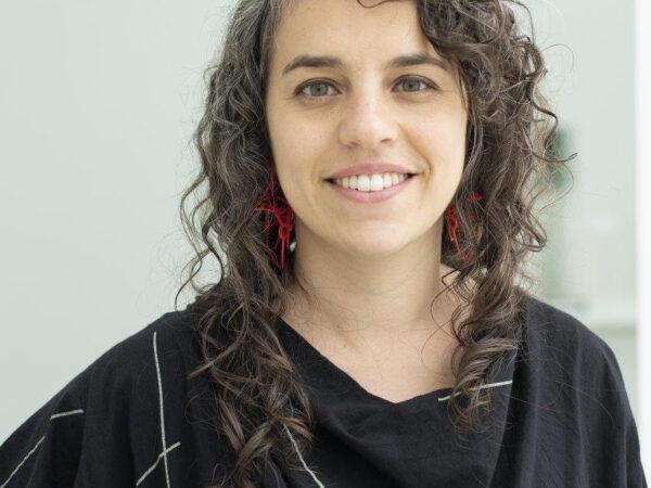 Photo of a woman wearing black