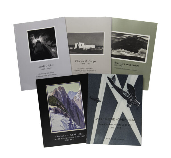 Collection of five catelogues of Praire Printmaker exhibitions